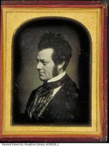 Mid-19th-century portrait of Edwin Forrest. Courtesy of the Harvard Theatre Collection, Houghton Library, Harvard University.
