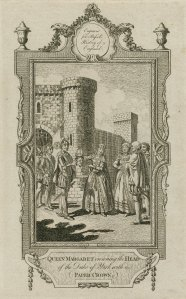 Damn, Queen Margaret, that's cold. Like, White Walker cold. 1777 print from the Folger Library.